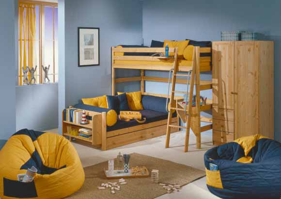 Etagenbett Ecklösung : Stockbetten hochbetten halbhochbetten mit rutsche rutschenbetten